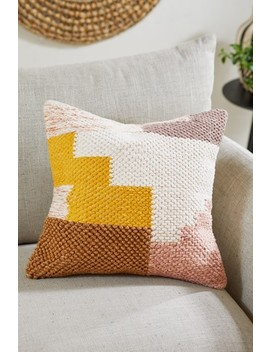Tufted Abstract Blocks Cushion by Next