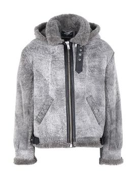 Cracked Shearling Jacket by Represent