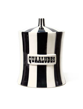 Vice Quaaludes Canister by Jonathan Adler