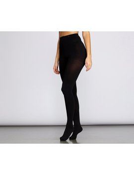 Compress Hip Up Opaque Tights by Windsor