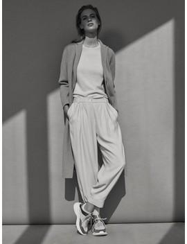 Pullover Aus 100% Kaschmir Mit Rundausschnitt by Massimo Dutti