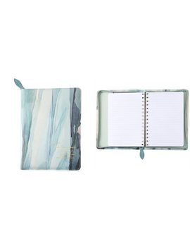 <Div>Refill Zip Journal Watercolour Leaves</Div> by Indigo Paper