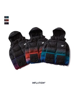 Inflation 2019 Winter Men Cotton Padded Coat Thick Cotton Padded Men Jacket Streetwear Cotton Padded Men Parkas Digital Printing by Ali Express.Com