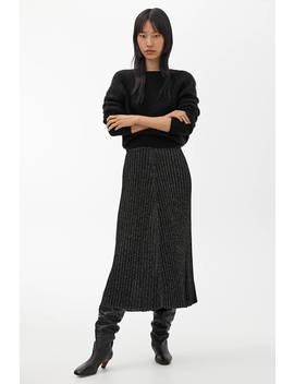 Fine Knit Glittery Skirt by Arket