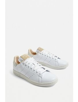 Adidas Originals Stan Smith All White Trainers by Adidas Originals