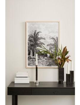 Hoge Marmeren Kandelaar by H&M