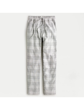 Flannel Lounge Pant In Heather Grey by J.Crew