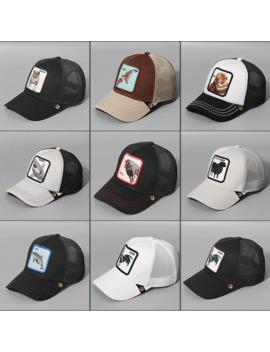 New Summer Trucker Cap Mesh Snapback Hip Hop Hats For Men Wolf Embroidery Baseball Caps Women Full Dad Hat Men Bone Feminino by Ali Express.Com