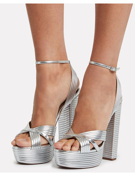 Sundance Platform Sandals by Aquazzura