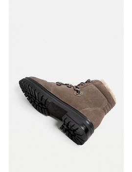 Uo Bow Ski Hook Taupe Hiker Boots by Urban Outfitters