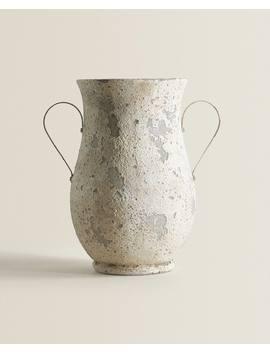 Rustieke Pot Met Handgrepen  Sieraccessoires   Decoratie En Accessoires   Shop Op Product by Zara Home