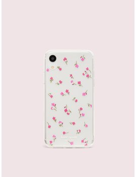 Jeweled Meadow Clear Iphone Xr Case by Kate Spade