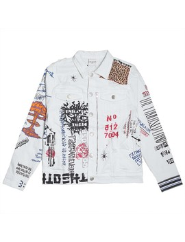 Lifted Anchors Men Hendrix Jacket (White) by Bait
