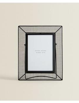 Fotolijst Van Gaasstof Met Voet  Fotolijsten   Decoratie En Accessoires   Shop Op Product by Zara Home
