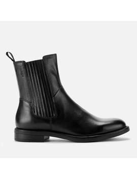 Vagabond Women's Amina Leather Chelsea Boots   Black by Vagabond