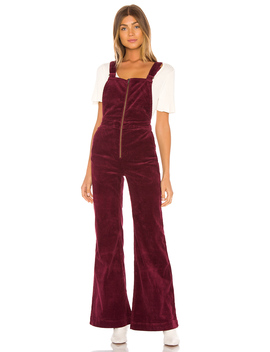 Eastcoast Corduroy Flare Overall by Rolla's