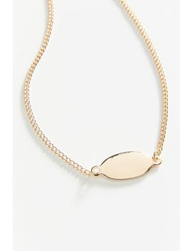 Cocoa & Uo Exclusive Id Tag Anklet by Cocoa