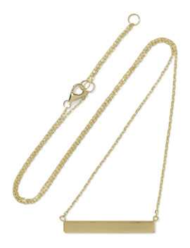 Eleanora 18 Karat Gold Plated Sterling Silver Necklace by Iris & Ink