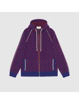 Gg Wool Bomber Jacket by Gucci
