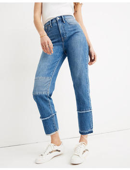 Madewell X Isko™ Patched Classic Straight Jeans by Madewell