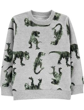Carter's          Dinosaur Pullover Sweatshirt by Carters
