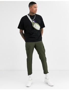 Asos Design   Joker   Oversized T Shirt Med Print På Brystet Og Ryggen by Asos Design