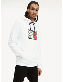 Essential Tommy Jeans Logo Hoody by Tommy Jeans