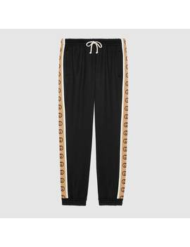 Loose Technical Jersey Track Bottoms by Gucci