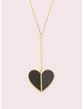 Heritage Spade Linear Pendant by Kate Spade
