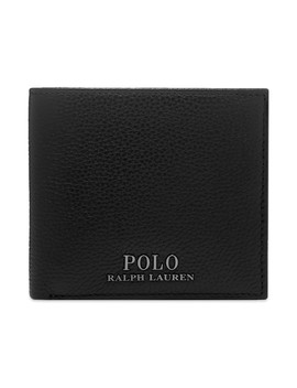 Polo Ralph Lauren Pebble Grain Billfold Wallet by Polo Ralph Lauren
