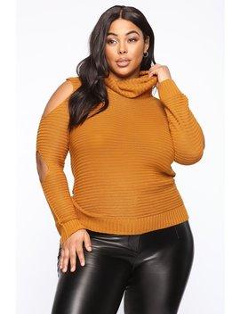 Feelin' This Good Sweater   Mustard by Fashion Nova