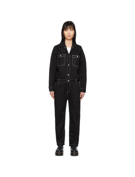 Black Manton Coverall by Carhartt Work In Progress