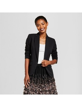 Women's Bi Stretch Twill Blazer   A New Day™ by A New Day