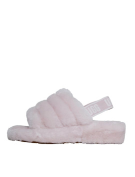 Ugg Womens Fluff Yeah Slides Seashell Pink by Ugg