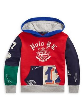 Little Boy's Colorblock French Terry Hoodie by Ralph Lauren Childrenswear