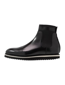 Nettuno Wedge Pull On Boot   Classic Ankle Boots   Black by Karl Lagerfeld