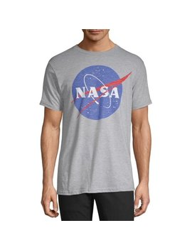 "Men's Distressed Nasa ""Space Logo"" Short Sleeve Graphic Tee by Nasa"
