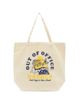 Beige 'out Of Office' Tote by Bather