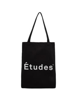 Black Logo November Tote by Études
