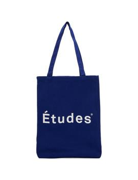Blue Logo November Tote by Études