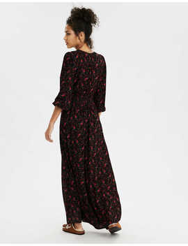Ae Smocked Waist Maxi Dress by American Eagle Outfitters