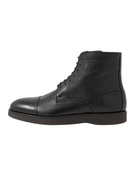 Oracle   Lace Up Ankle Boots by Boss
