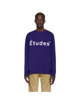 Blue Story Sweatshirt by Études