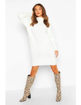 Robe Pull Col Roulé Style Pêcheur by Boohoo