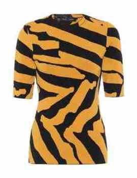 Zebra Jacquard Sweater by Proenza Schouler
