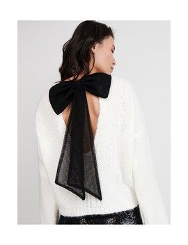 Sweter Z Kokardą Na Plecach by Reserved