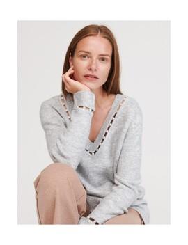 Sweter Ze Sztucznymi Perłami by Reserved