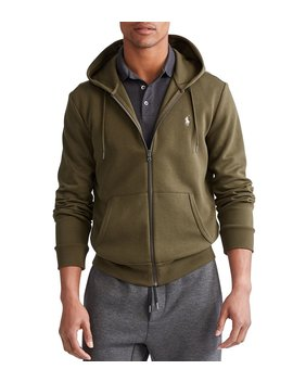 Big &Amp; Tall Double Knit Full Zip Hoodie by Polo Ralph Lauren