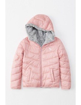Abercrombie & Fitch Pink Padded Jacket by Next