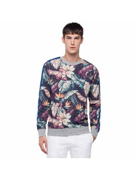 Replay All Over Flower Light Fleece by Replay